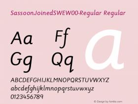 SassoonJoinedSWE-Regular