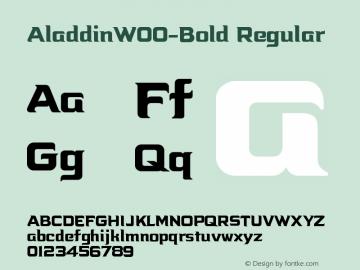 Aladdin-Bold