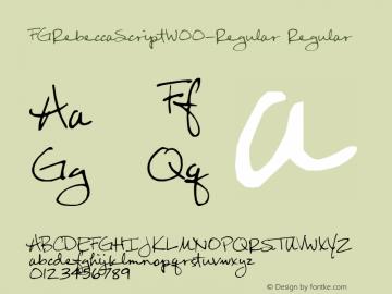 FGRebeccaScript-Regular