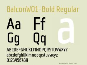 Balcon-Bold