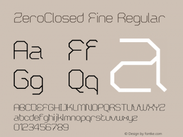 ZeroClosed Fine