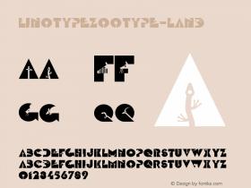 LinotypeZootype-Land