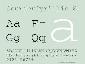CourierCyrillic