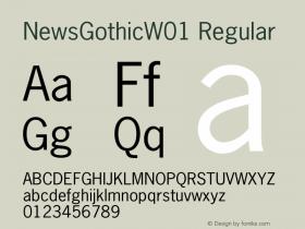 NewsGothic
