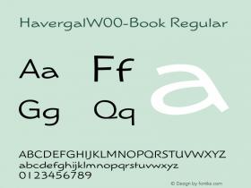Havergal-Book