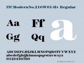 ITCModernNo.216-Hv