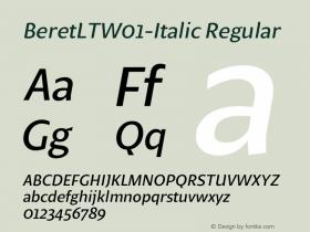 BeretLT-Italic