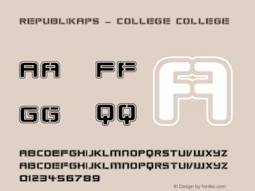 Republikaps - College