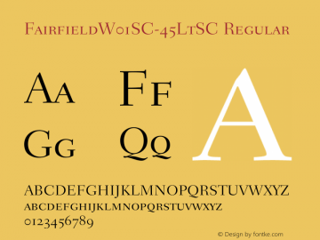 FairfieldSC-45LtSC