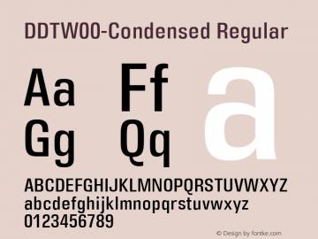 DDT-Condensed
