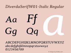 DiverdaSerif-Italic
