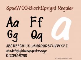 Spud-BlackUpright