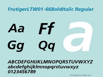 FrutigerLT-66BoldItalic