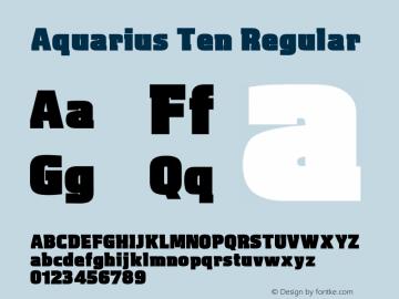 Aquarius Ten