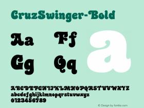 CruzSwinger-Bold