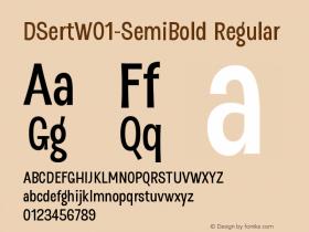 DSert-SemiBold