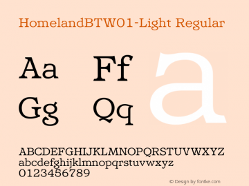 HomelandBT-Light