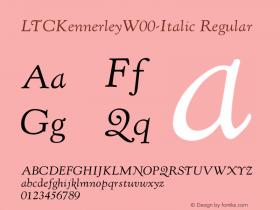 LTCKennerley-Italic