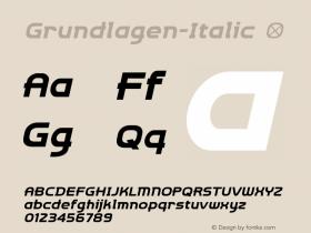 Grundlagen-Italic