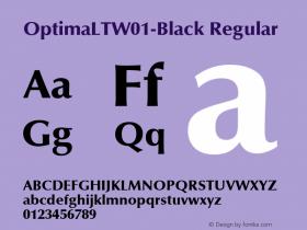 OptimaLT-Black