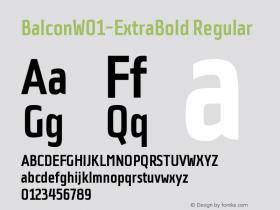 Balcon-ExtraBold