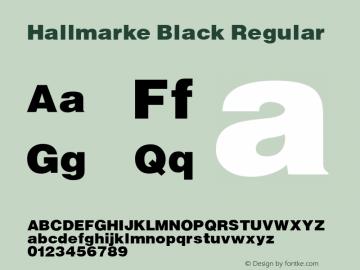 Hallmarke Black