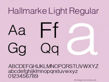 Hallmarke Light