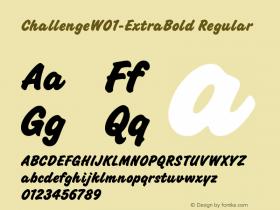 Challenge-ExtraBold