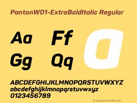 Panton-ExtraBoldItalic