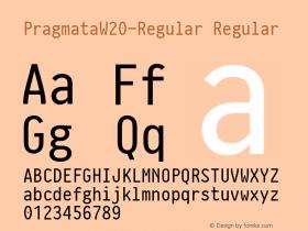 Pragmata-Regular
