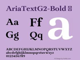 AriaTextG2-Bold