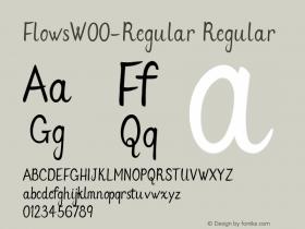 Flows-Regular