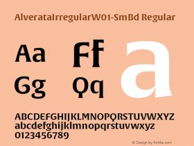 AlverataIrregular-SmBd