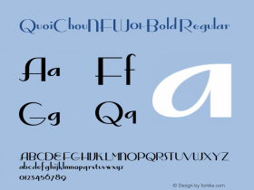 QuoiChouNF-Bold