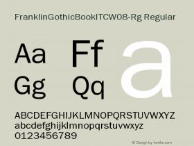 FranklinGothicBookITC-Rg