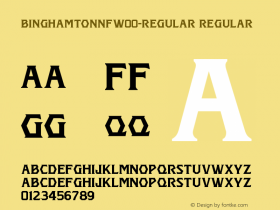 BinghamtonNF-Regular