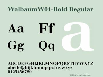 Walbaum-Bold