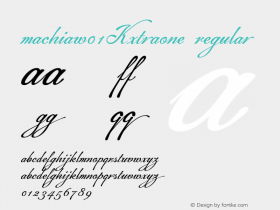 Machia-XtraOne