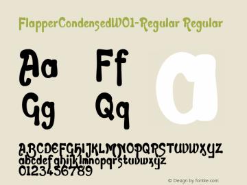 FlapperCondensed-Regular