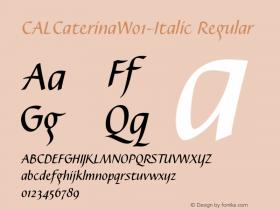 CALCaterina-Italic
