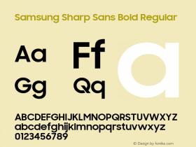 Samsung Sharp Sans Bold