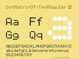 DotMatrixOT-TwoRegular