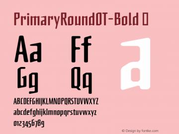 PrimaryRoundOT-Bold