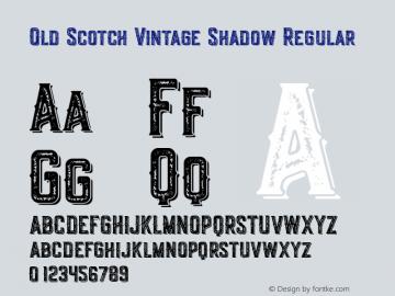 Old Scotch Vintage Shadow