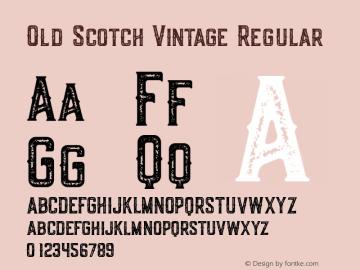 Old Scotch Vintage