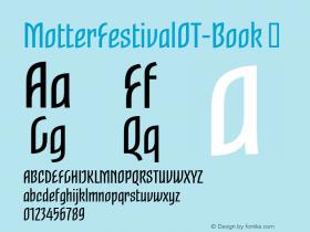 MotterFestivalOT-Book