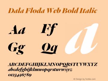 Dala Floda Web Bold