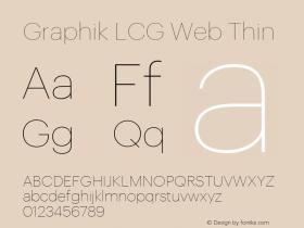 Graphik LCG Web