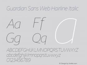 Guardian Sans Web