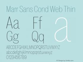 Marr Sans Cond Web